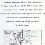 Map of The Narrows Landing Botique Hotel
