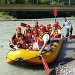 rafting on the river Drau