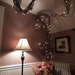 lighted vine decorations, lovely