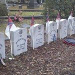 8-crew of the last voyage of the Hunley interred here at Magnolia Cemetery onl