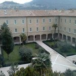                    cortile dell`albergo