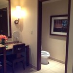                    huge suite bathroom! loved it!