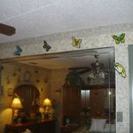 Just a few of the butterflys in the Flutterby Room