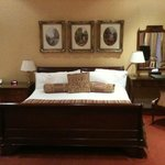                    our junior suite, very comfortable bed