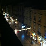 View from room window (on Florianska)