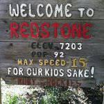                    the town of Redstone