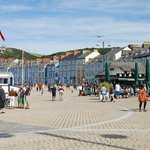                    Aberystwyth on a sunny day