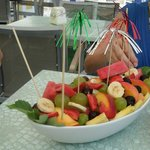 Fruit Salad Boat