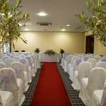                    The room for the ceremony
