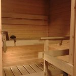 Our private sauna
