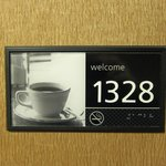  Room Number Plate