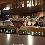 Great service at Laguna Vista Saloon!! Have a chocolate martini!