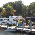 RV sites and dock