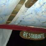Restaurante da pousada no dia do reveillon