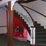                    stair case in basement