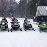                    Great snowmobiling