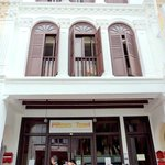                    Sept 2011 - The facade at Mosque St. I miss P&amp;T!