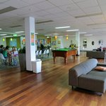  Adelaide Central YHA - modern clean and spacious lounge dining room