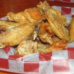 The wings are awesome. They offer like 40 flavors!
