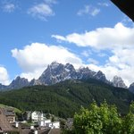                    vista dall&#39;albergo