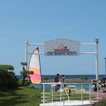 Welcome Gate of Sun Marina Beach