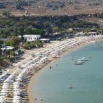 Beach at Lindos