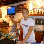                    Bar Staff at the Athena