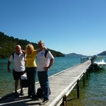                    Mary, Tom and Des at Jetty