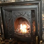                    Ah the lovely fire in the lounge....