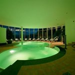  Hallenbad in der Wellnessanlage