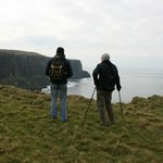                    Guide Pat Sweeney on the Doolin Cliff Walk