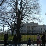 View of the White House from Lafayette Square