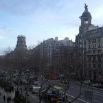  vista desde la habitacion, Paseo de Gracia