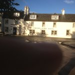                    Loch Lomond arms in the sunlight