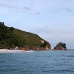                                      view of Alang&#39;s from the jetty