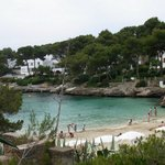                    Cala D&#39;or beach