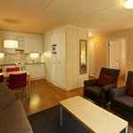  Hellsten Hotel Espoo - One Bedroom, Kitchen