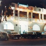 a View of the Springbok Hotel in the early 50's