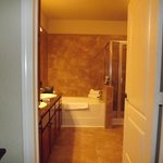                    Master Bathroom complete w/Shower &amp; Tub