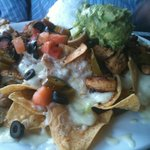 Nachos with Fajita Chicken