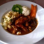 Beef Goulash with Spatzel