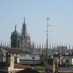                    A view from my room of  the Duomo