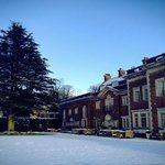 Eaves Hall in the Snow