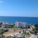 Lovely view from our appartment at the Clube Praia Mar