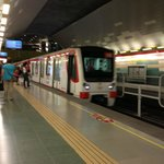 Subway  5 blocks from hotel.  One of the most modern, clean and efficient in t