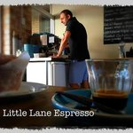 Enjoy an espresso at Little Lane Espresso