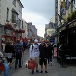  Galway City shopping area
