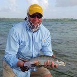 Tobago bonefish on the fly