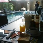 Breakfast & The Pool