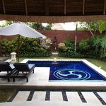                    Private plunge pool in 1bed villa